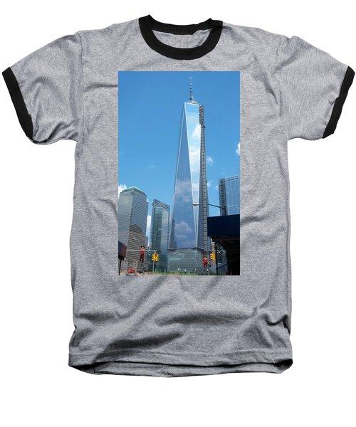 Clouds Reflection Baseball T-Shirt