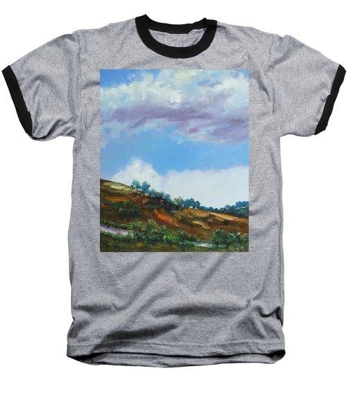 Clouds Baseball T-Shirt by Rick Nederlof