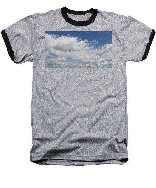 Clouds 17 Baseball T-Shirt by Rod Ismay