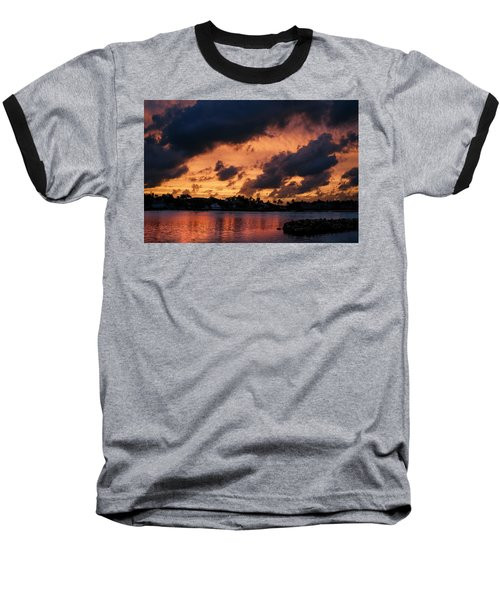 Baseball T-Shirt featuring the photograph Cloudscape by Laura Fasulo