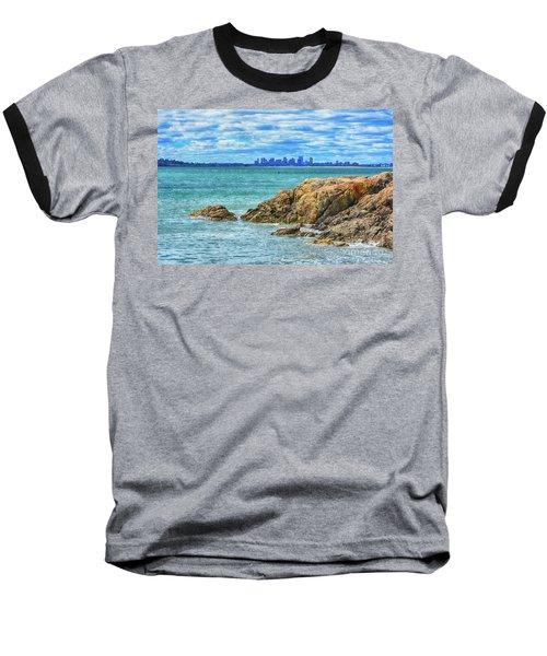 Cloudy Boston Baseball T-Shirt