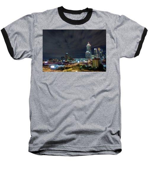 Cloudy City Baseball T-Shirt