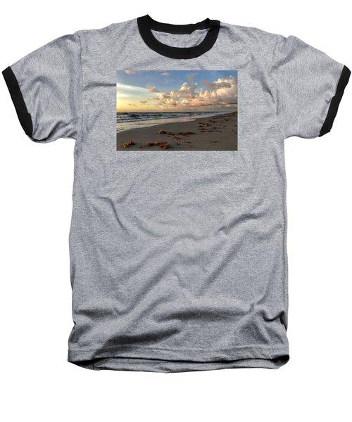 Cloudy Horizon  Baseball T-Shirt