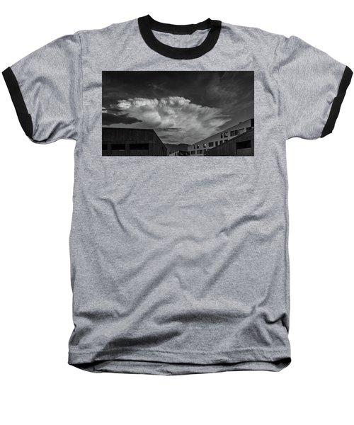Cloudy Sky Over Bolzano Baseball T-Shirt