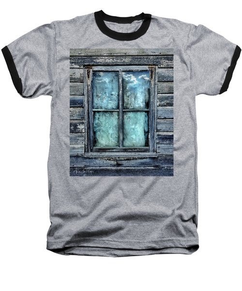 Cloudy Window Baseball T-Shirt