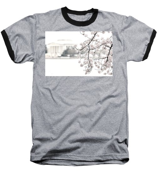 Cloudy With A Chance Of Tourists Baseball T-Shirt