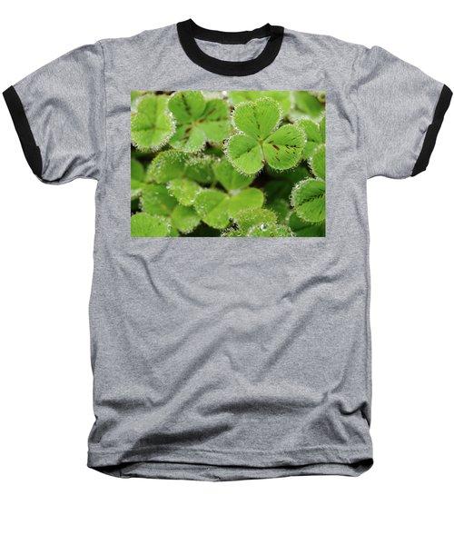 Cloverland Frosted Over Baseball T-Shirt