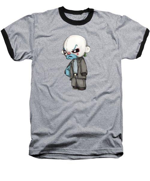 Clown Bank Robber Plush Baseball T-Shirt