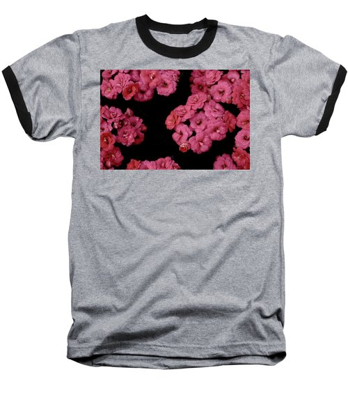 Clusters Of Pink Baseball T-Shirt by Tim Good