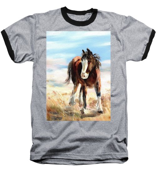 Clydesdale Foal Baseball T-Shirt