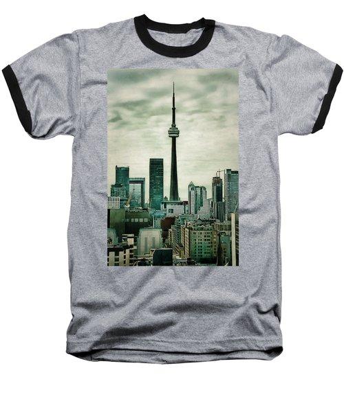 Cn Tower Baseball T-Shirt