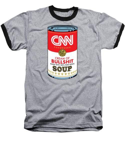 Cnn Soup Can Baseball T-Shirt