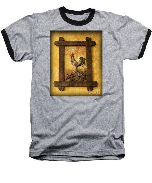 Co Co Ri Co Cockerel Baseball T-Shirt