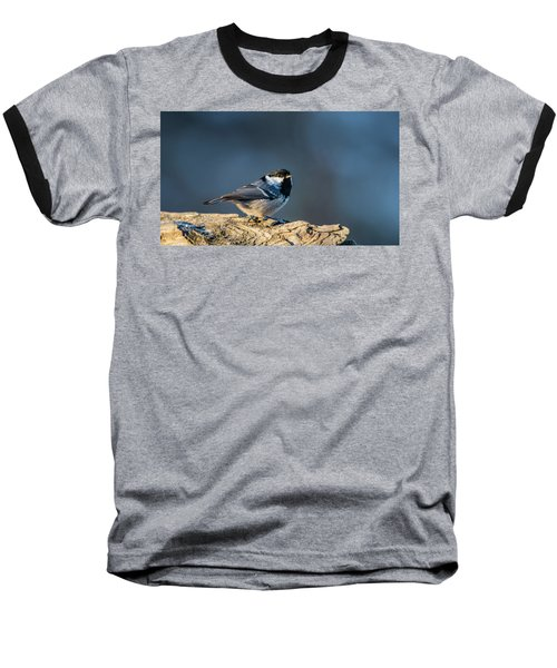 Baseball T-Shirt featuring the photograph Coal Tit's Colors by Torbjorn Swenelius
