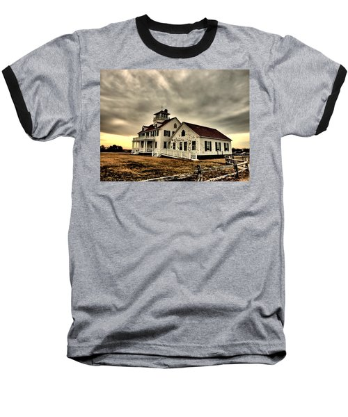 Coast Guard Beach Station Baseball T-Shirt