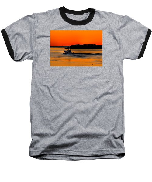 Baseball T-Shirt featuring the photograph Coast Guard  by Jerry Cahill