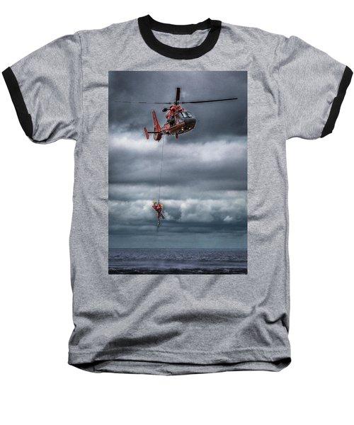 Coast Guard Rescue Operation  Baseball T-Shirt
