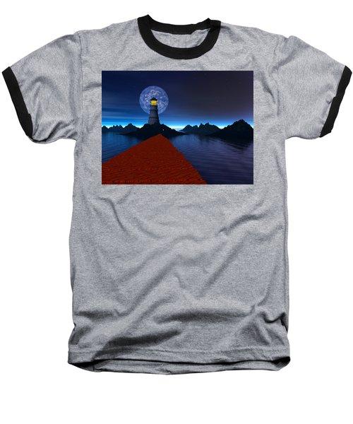 Coast Baseball T-Shirt by Mark Blauhoefer