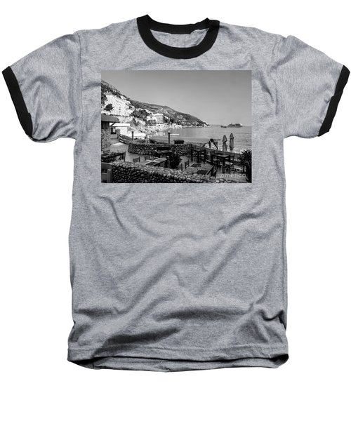 Coast Of Dubrovnik Baseball T-Shirt
