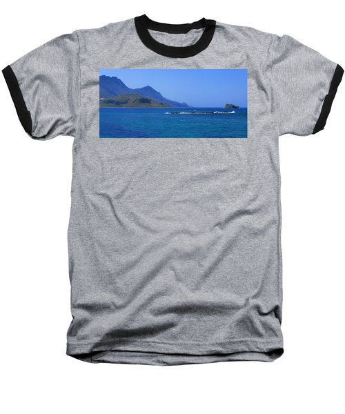 Coast Of Gramvousa Baseball T-Shirt