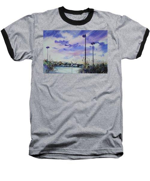 Coastal Beach Highway Baseball T-Shirt
