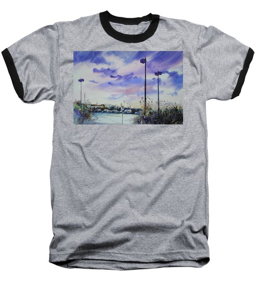 Coastal Beach Highway Baseball T-Shirt