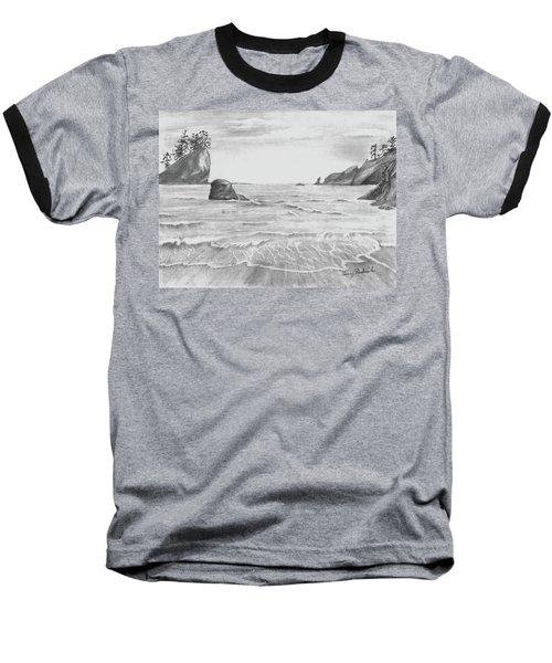 Coastal Beach Baseball T-Shirt