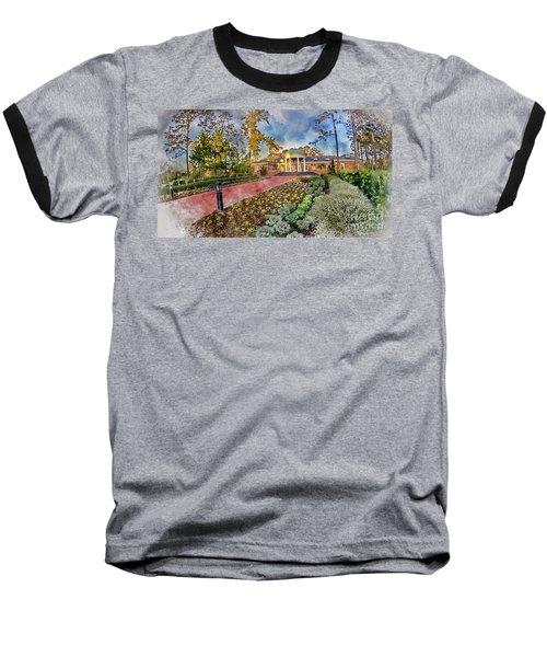 Coastal Carolina University Digital Watercolor Baseball T-Shirt