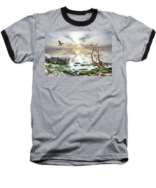 Coastal Landscape  Baseball T-Shirt