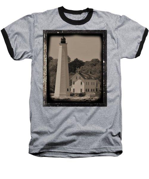 Coastal Lighthouse 2 Baseball T-Shirt