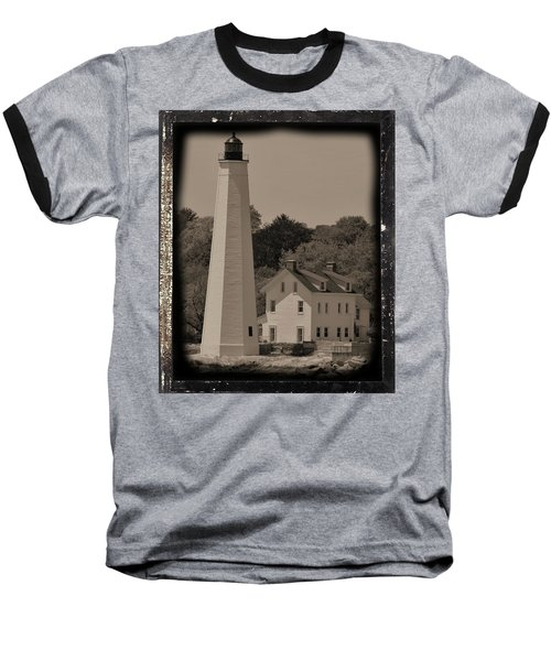 Coastal Lighthouse 2 Baseball T-Shirt