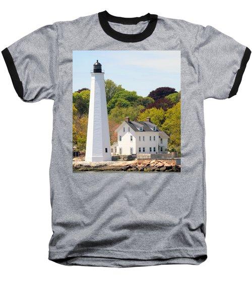 Coastal Lighthouse-c Baseball T-Shirt