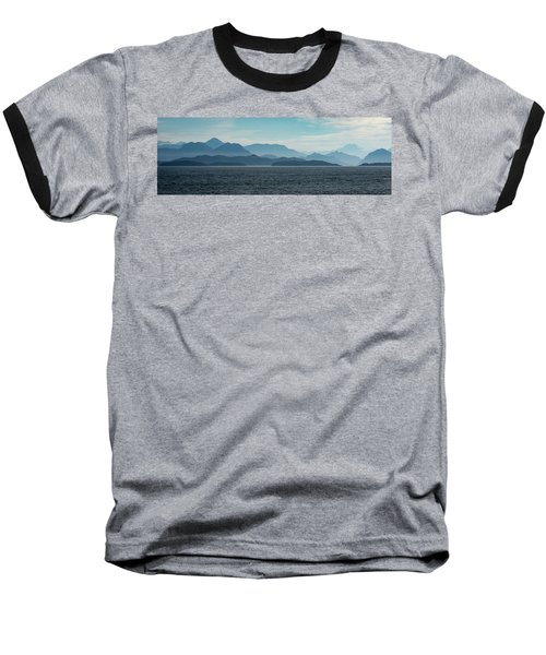 Coastal Mountains Baseball T-Shirt