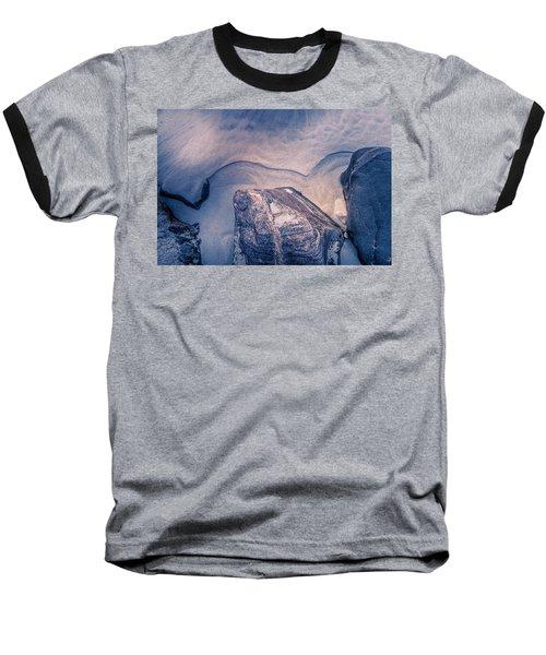 Coastal Rocks Baseball T-Shirt