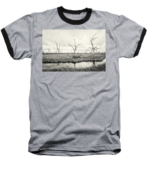 Baseball T-Shirt featuring the photograph Coastal Skeletons by Andy Crawford