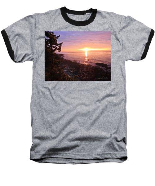 Coastal Sunrise Baseball T-Shirt