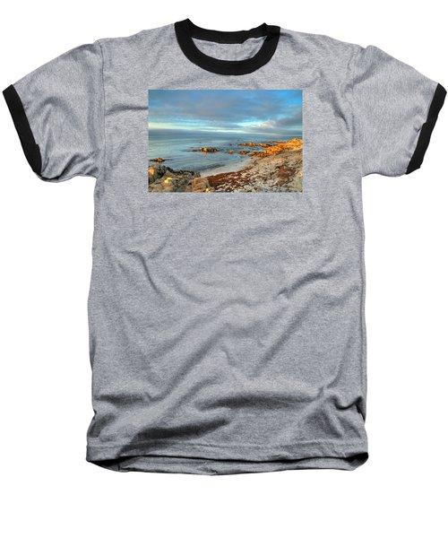Coastal Sunset Baseball T-Shirt