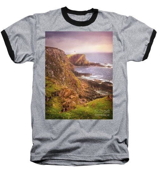 Baseball T-Shirt featuring the photograph Coastal Walks IIi by Maciej Markiewicz
