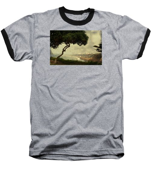 Coastline Of Lima, Peru Baseball T-Shirt