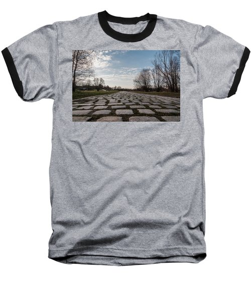 Baseball T-Shirt featuring the photograph Cobble-stones by Sergey Simanovsky