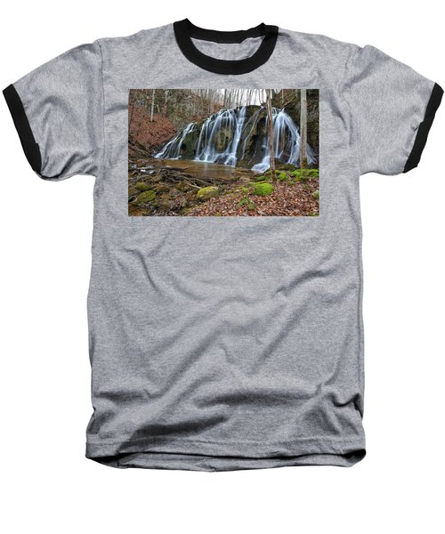 Cobweb Falls Baseball T-Shirt