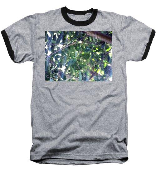 Baseball T-Shirt featuring the photograph Cobweb Tree by Megan Dirsa-DuBois