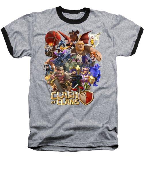 Coc Troops Baseball T-Shirt