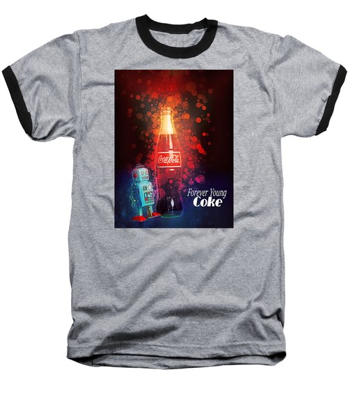 Coca-cola Forever Young 15 Baseball T-Shirt