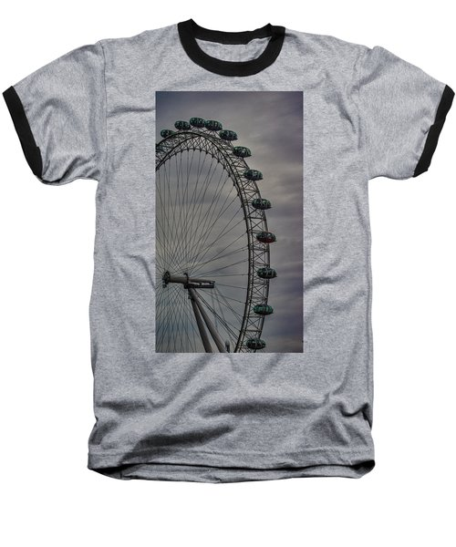 Coca Cola London Eye Baseball T-Shirt by Martin Newman