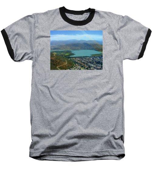 Cochabamba Lake Baseball T-Shirt by Lew Davis