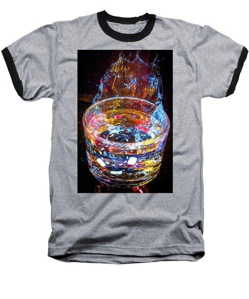 Cocktail Chip Baseball T-Shirt by Mark Dunton