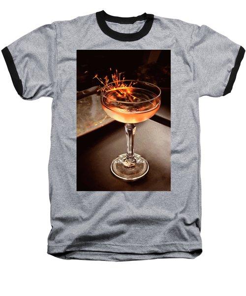 Cocktail Dazzle Baseball T-Shirt