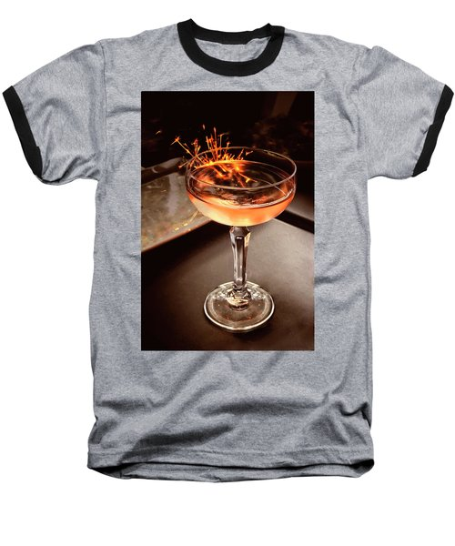 Cocktail Dazzle Baseball T-Shirt