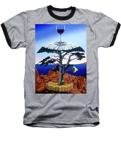 Cocktail Hour Baseball T-Shirt